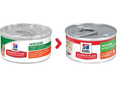 Hill's Kitten First Nutrition Mousse kattefoder