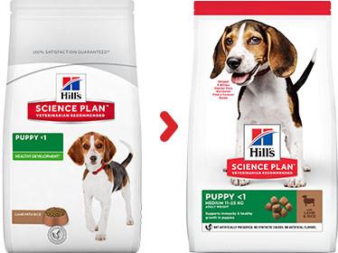 Hill's Puppy Medium lam & ris hundefoder