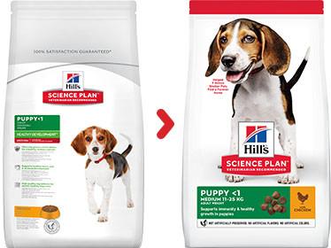 Hill's Puppy Medium med kylling hundefoder
