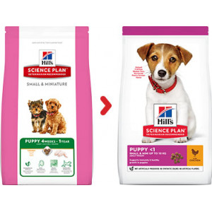 Hill's Puppy Small & Mini kylling hundefoder 1,5 kg