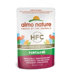 Almo Nature Classic Tun & Kylling 55 gr