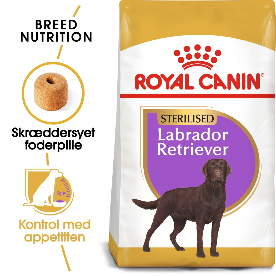 Royal Canin Sterilised Adult Labrador Retriever hundefoder