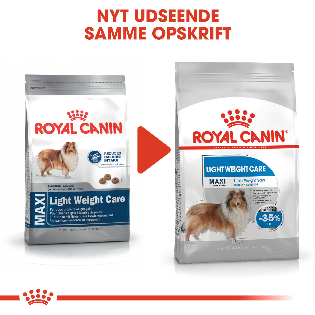 Royal Canin Maxi Light Weight Care hundefoder