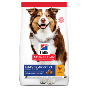 Hill's Mature Adult Medium kylling hundefoder