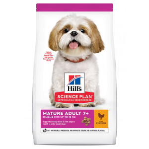 Hill's Mature Adult 7+ Small & Mini Kylling hundefoder
