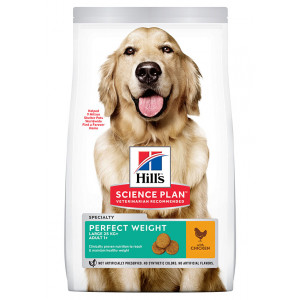 Hill's Adult Perfect Weight Large Breed kylling hundefoder