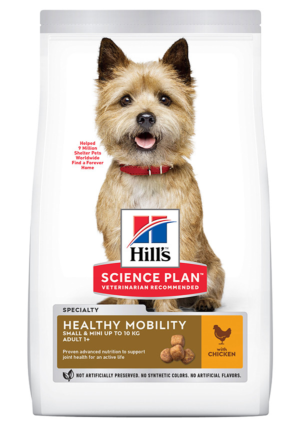 Hill's Adult Healthy Mobility Small & Mini kylling hundefoder