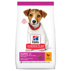 Hill's Puppy Small & Mini kylling hundefoder 3 kg