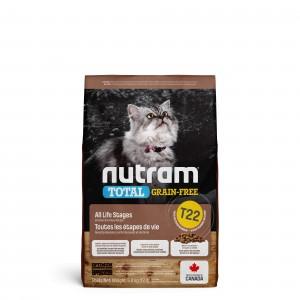 Nutram Kornfrit Kalkun, Kylling & And T22 kattefoder