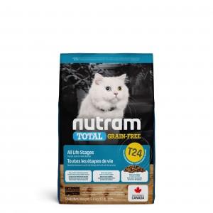 Nutram Kornfrit Laks & Ørred T24 kattefoder udgår fra sortimentet / UDGÅR
