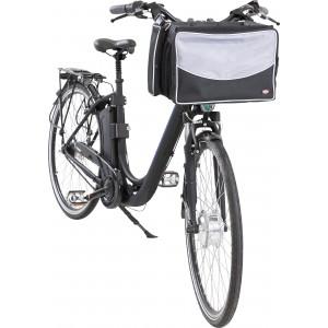 Cykeltaske til hund/kat ved rattet