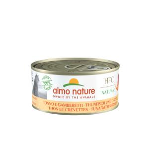 Almo Nature HFC Tunfisk og rejer kattemad