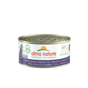 Almo Nature HFC Tun, kylling, skinke Kattefoder