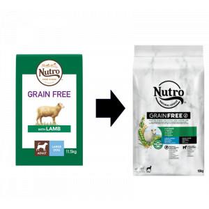 Nutro Grain Free Adult Large Lam hondenvoer